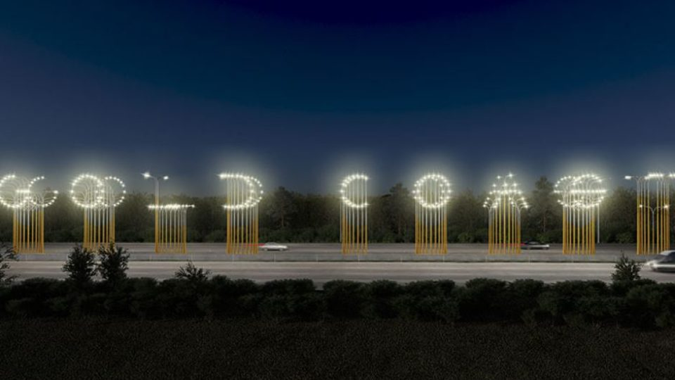 Controversial Gold Coast Lights Installation To Remain In Place