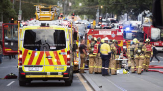 flammable cladding - melbourne apartment builing