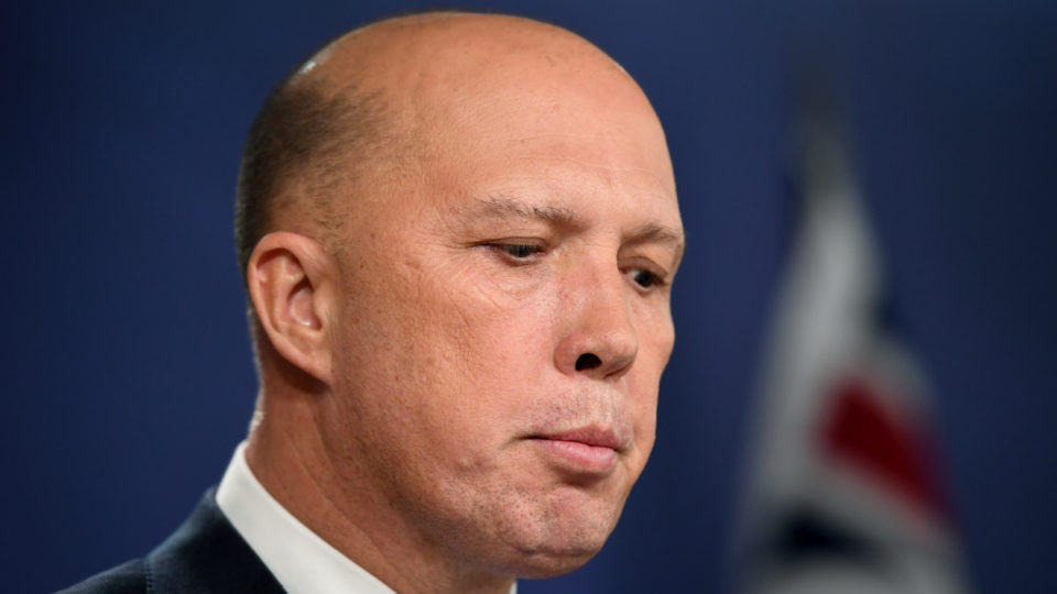 Peter dutton china