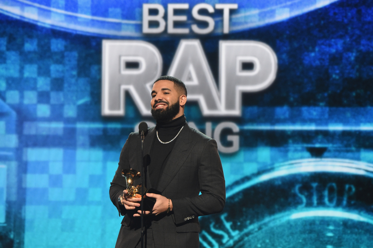 Drake won best rap song.