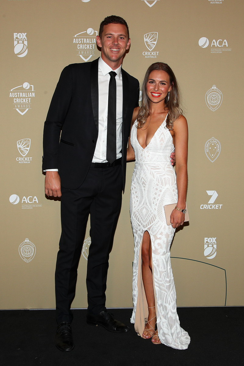 Josh Hazlewood and Cherie Christian