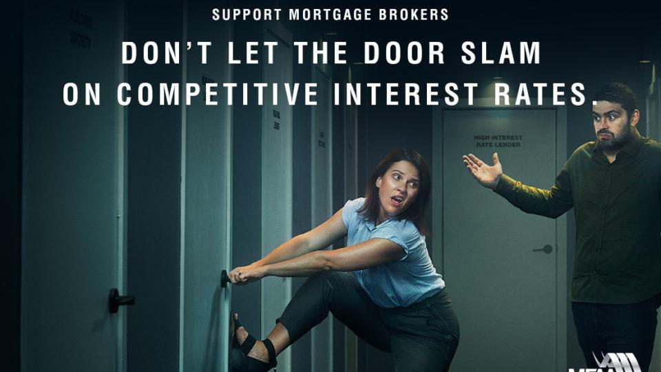 Mortgage broker ad campaign
