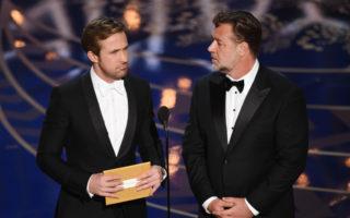 Ryan Gosling Russell Crowe Oscars 2016