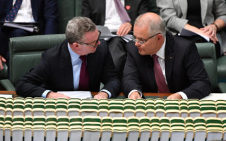 coalition has become scared of Parliament