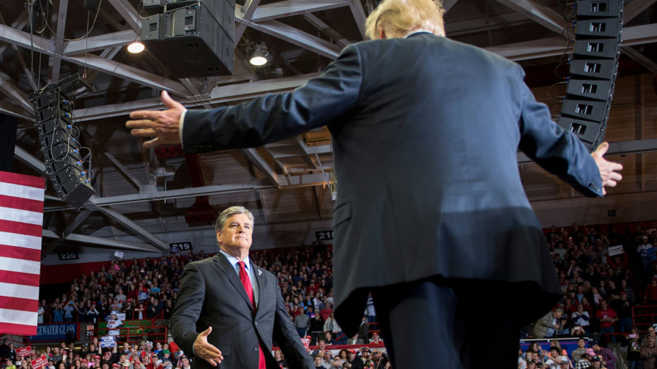 sean hannity's influence over Donald Trump