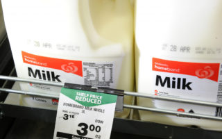 woolworths cheap milk