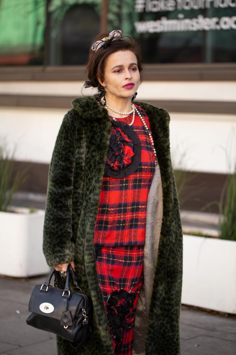 Helena Bonham Carter LFW
