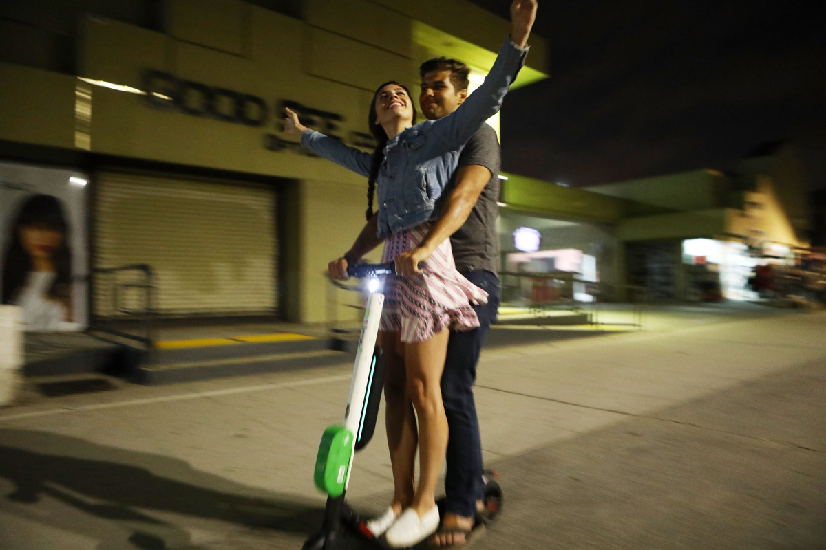 The ups, downs and bruises of the electronic scooter craze