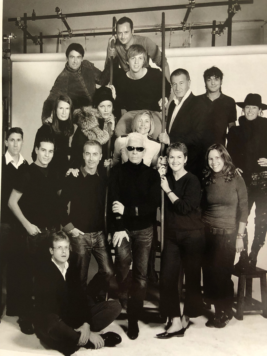 Kirstie Clements meets Karl Lagerfeld