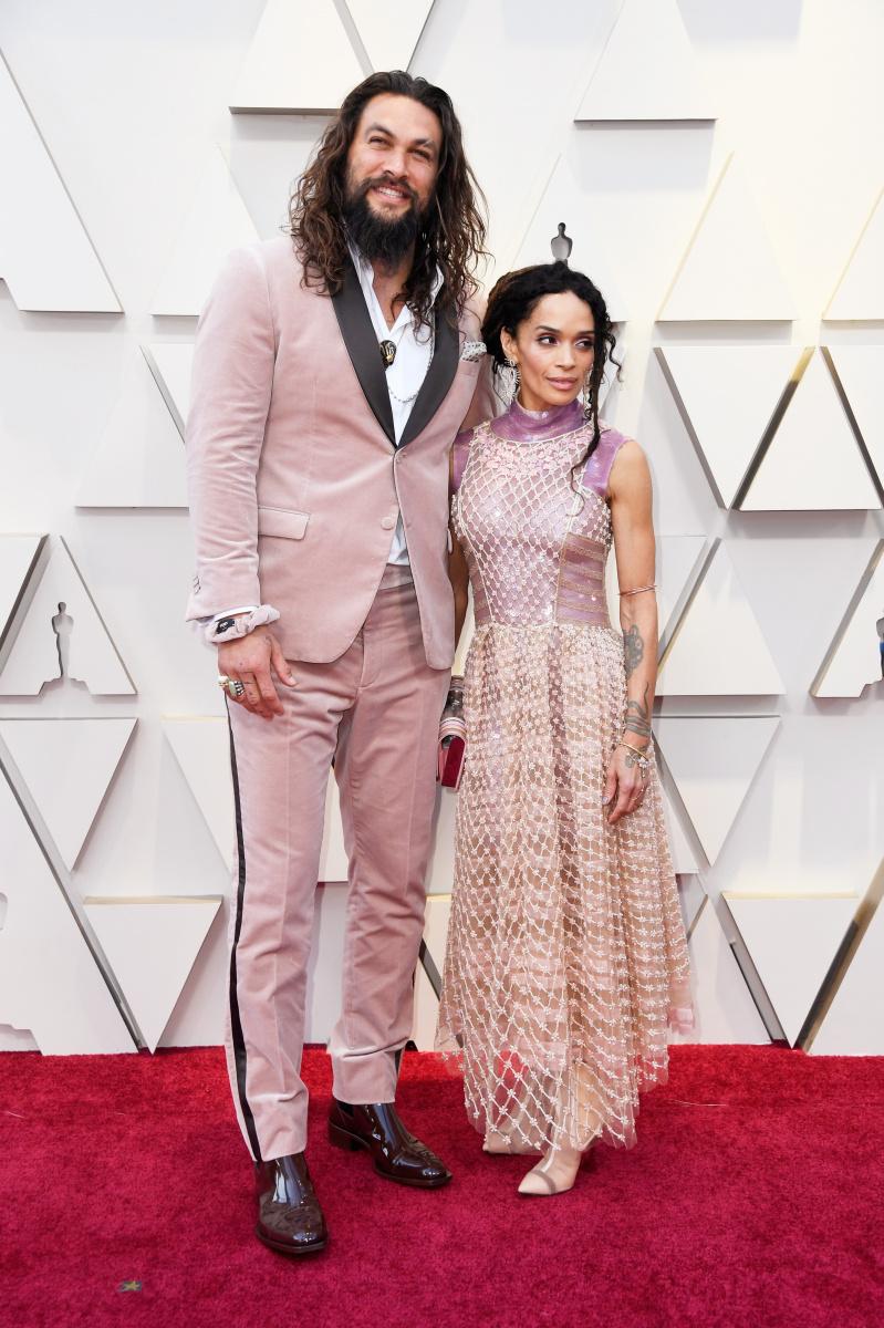 Jason Momoa Lisa Bonet 2019 Oscars