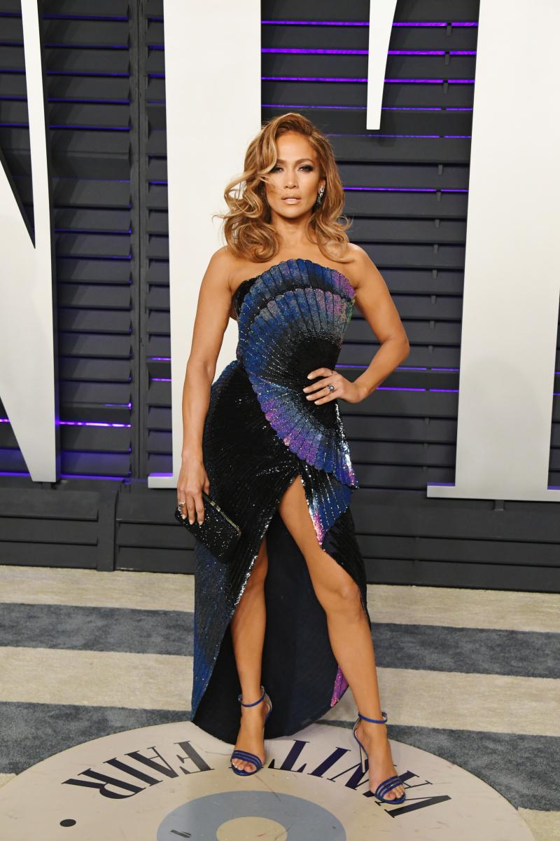 Jennifer Lopez 2019 Oscars party
