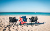 chairs at beach