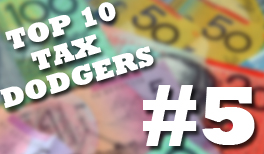 The New Daily and Michael West reveal Australia's fifth biggest tax dodger.