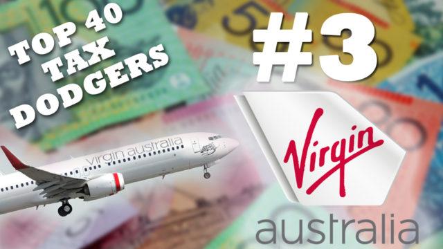 Australia's top-10 tax dodgers: Virgin Australia
