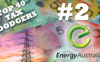 Energy Australia is the second biggest tax dodger in Australia.