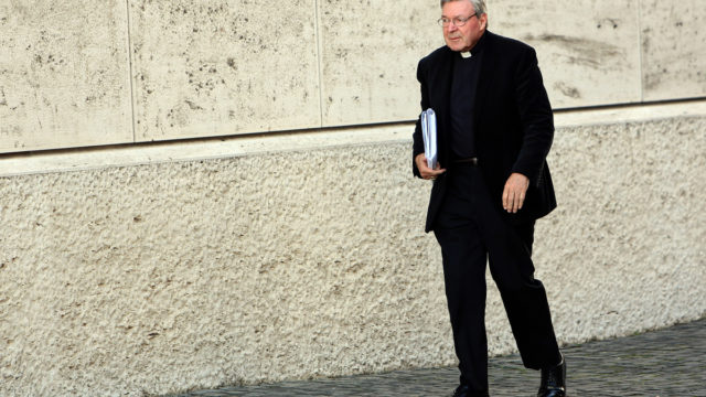 The video tapes of George Pell's interview with police in Rome have finally been released.