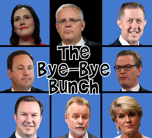 departing Coalition MPs