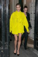 Hailey Baldwin 2019 Paris Fashion Week