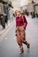 Xenia Adonts 2019 Paris Fashion Week.