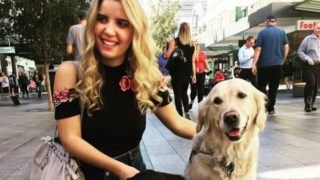blind woman refused entry to uber with guide dog