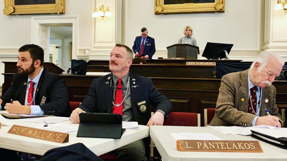 US Republicans wore pearl necklaces to a hearing on gun violence.