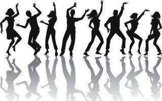 Dance floor kefamine happiness