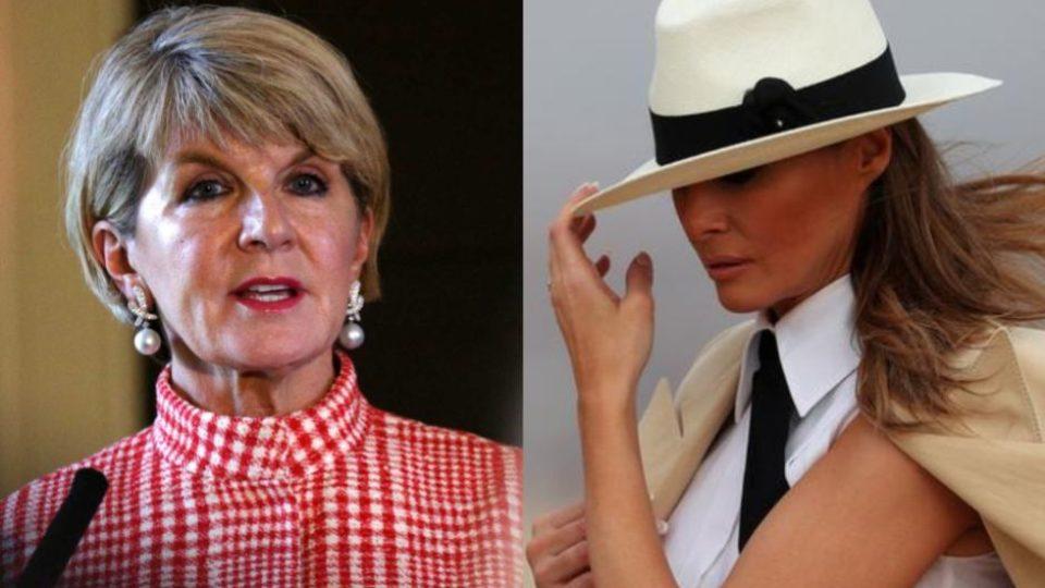 Julie Bishop Once Mistaken For Partner Of Australian Foreign Minister