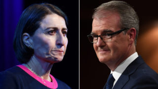 nsw election - gladys berejiklian and michael daley