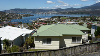 Hobart on a clear day