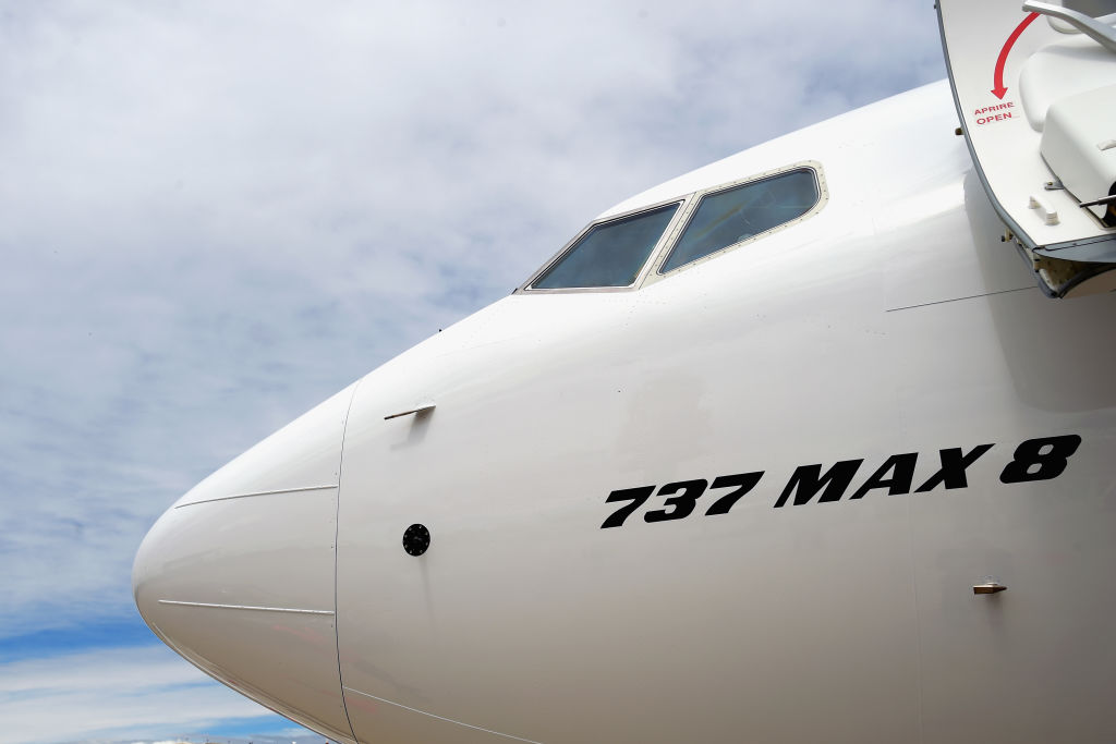 boeing max flying