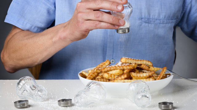 The average Australian consumes more than twice the salt they should.