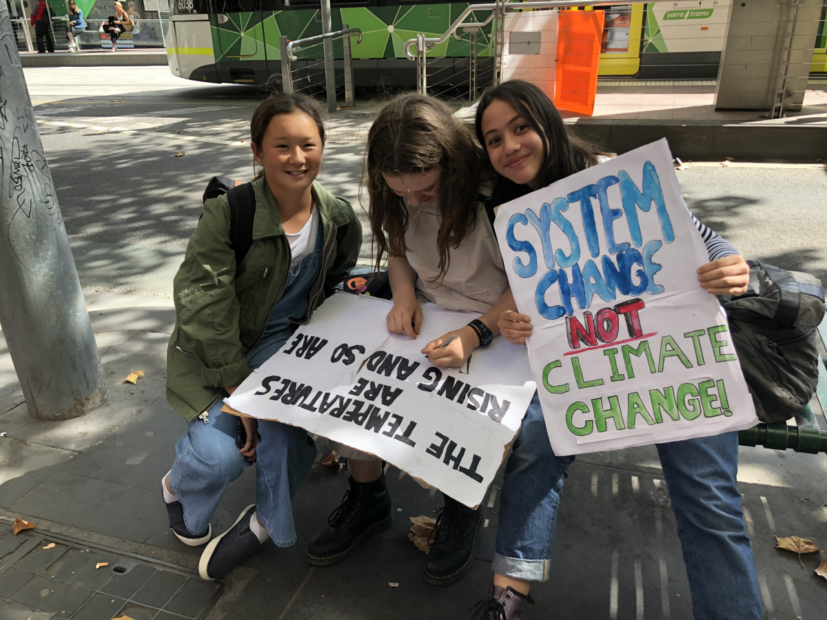 Student Rallies Around Australia Protest Inaction On