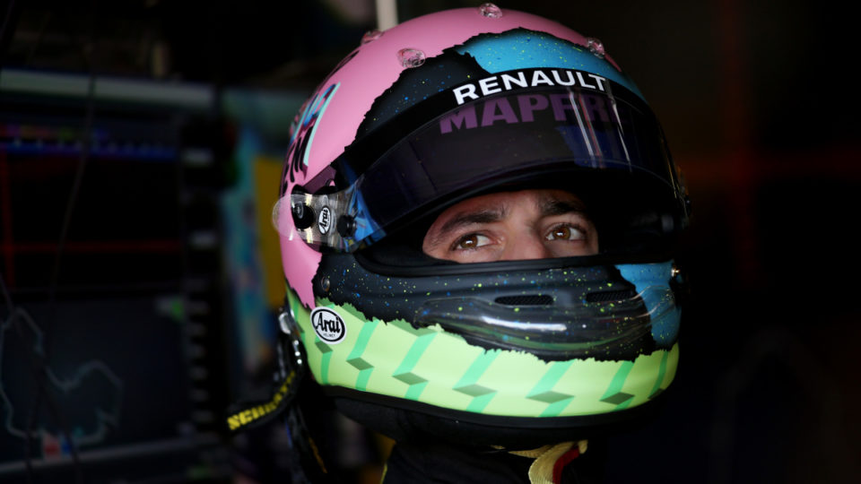 Ricciardo's bottom line: Only eighth-fastest practice time