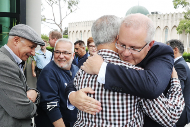 Prime Minister Scott Morrison meets with Muslim leaders after Christchurch massacre