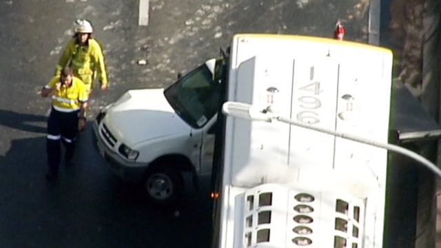 Twenty car pile-up causes major traffic delays on Brisbane motorway