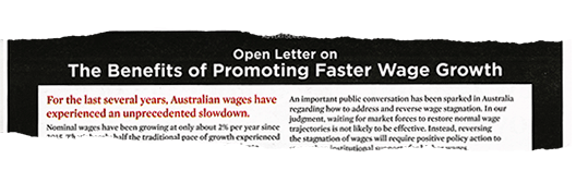 open letter on wage growth