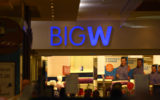 The entrance to a Brisbane-based Big W.