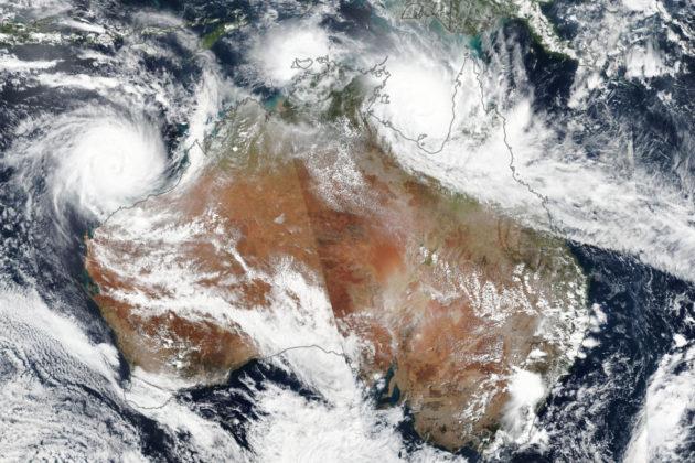 Cyclone Trevor and Veronica