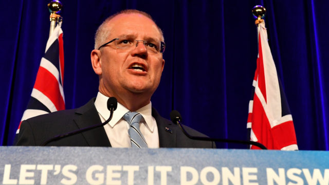 Look out Scott, your favourite economic measure is turning down