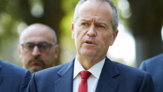 Labor leader Bill Shorten