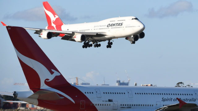 Both Qantas and Virgin have grounded their international fleets and slashed their domestic routes during the coronavirus outbreak.