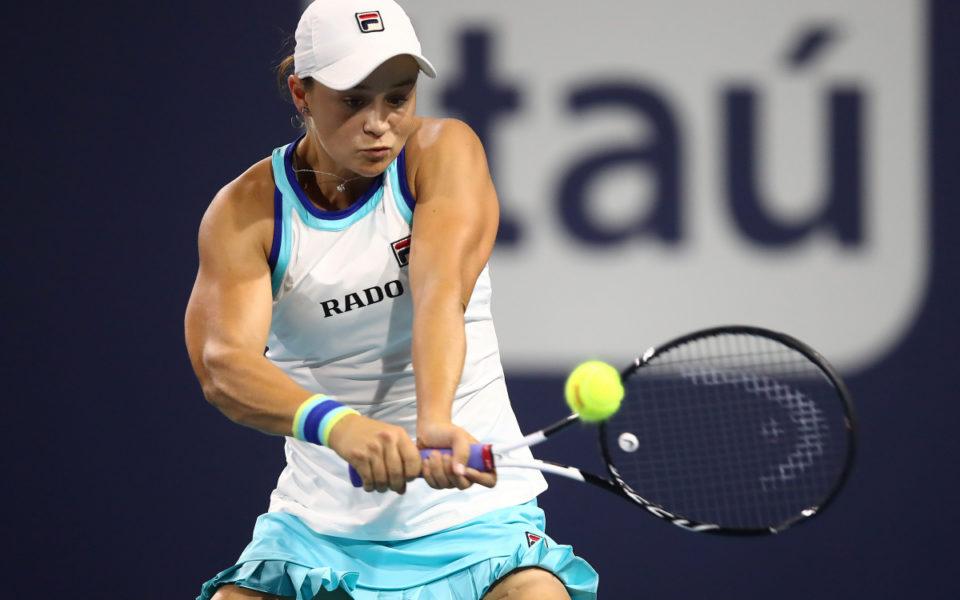 Ashleigh Barty downs Kvitova, cracks world's top 10