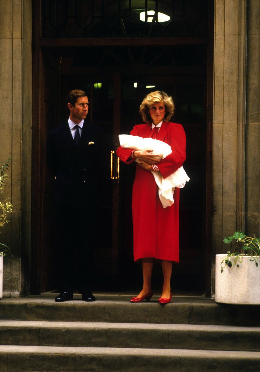 Prince Charles Princess Diana Prince Harry