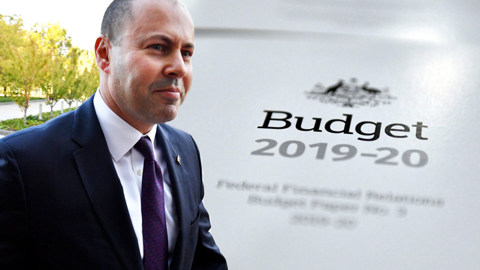 2019 budget Josh Frydenberg