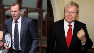 Tony Abbott Kevin Rudd