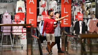 retail spending up february