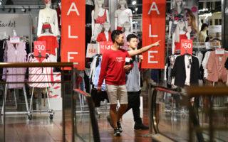 retail spending up february
