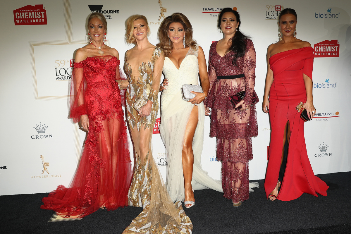 Real Housewives of Melbourne cast