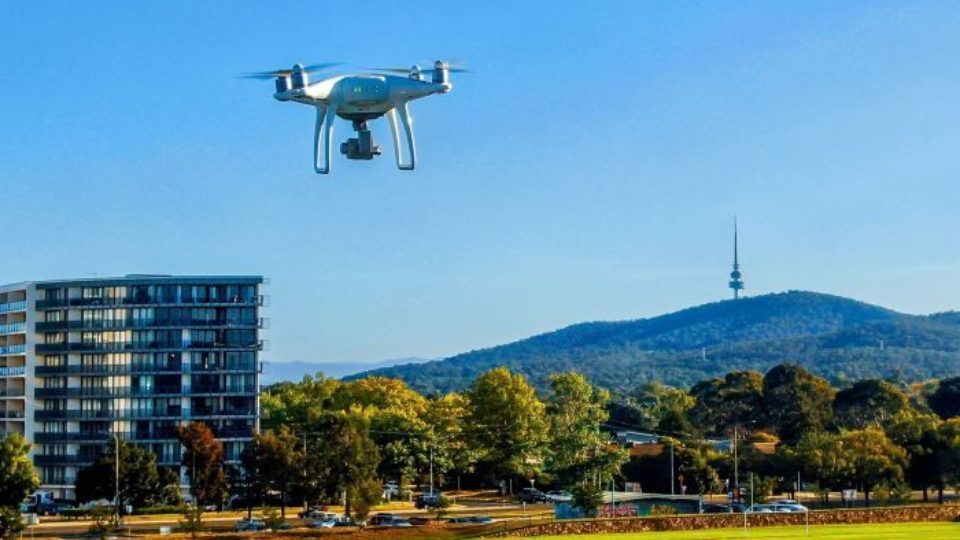 google drone delivery canberra