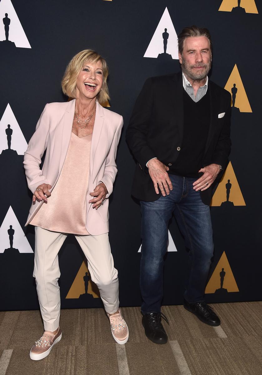 Olivia Newton John John Travolta 2018